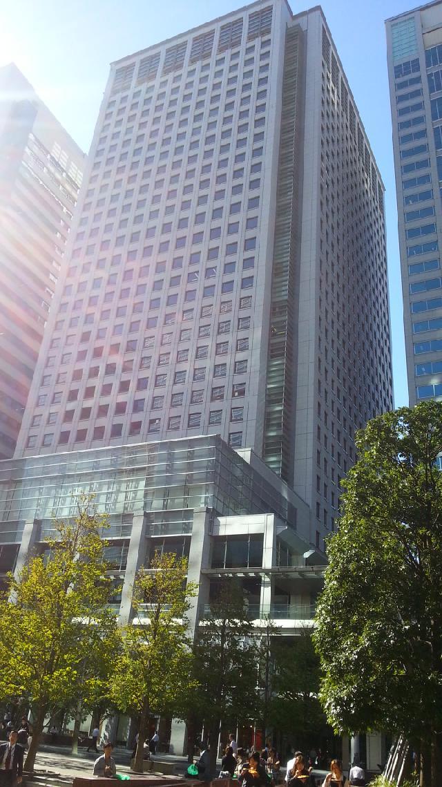 品川グランドセントラルタワーの外観