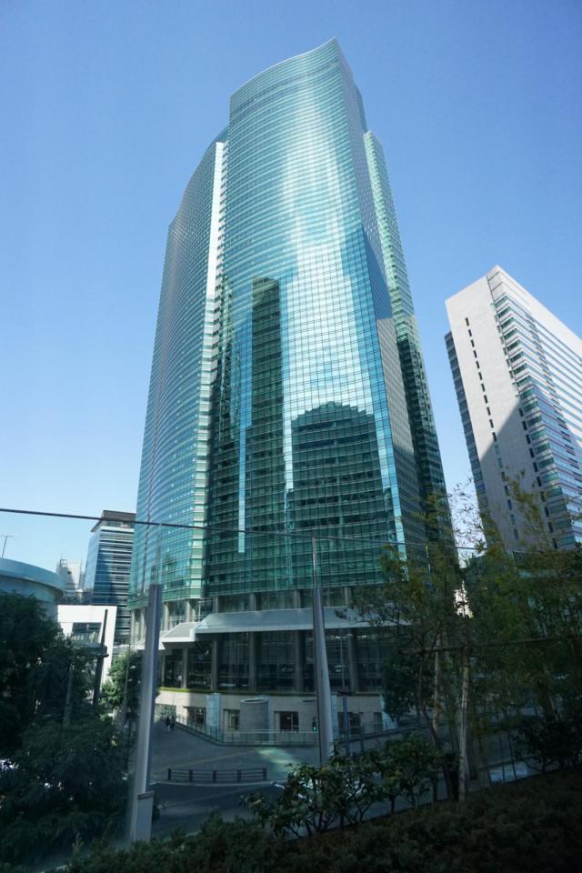 汐留シティセンターの外観