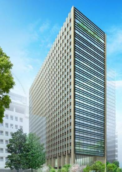 仮)内幸町2丁目PJ(新生銀行旧本店ビル建替え) 14F 629.07坪