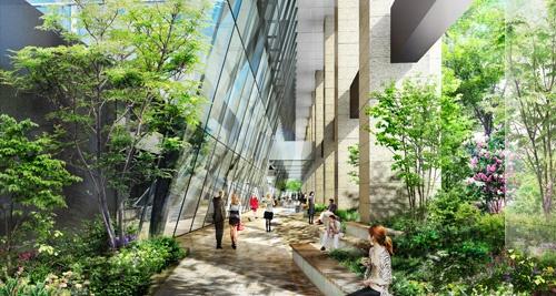 仮)内幸町2丁目プロジェクト 17F 629.72坪の内装