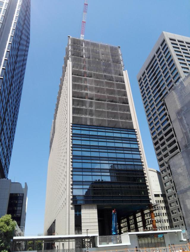 仮)内幸町2丁目PJ(新生銀行旧本店ビル建替え) 18F 629.07坪のエントランス