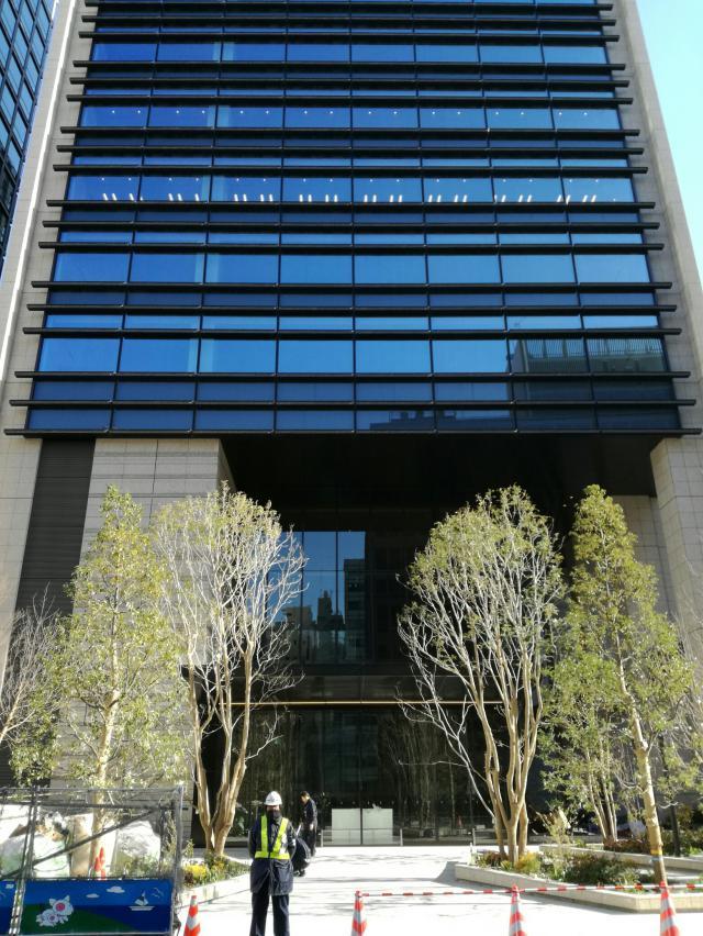 日比谷パークフロント(旧内幸町2丁目PJ) 6F 629.72坪の内装