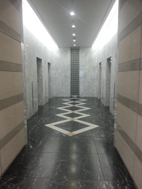 品川インターシティA棟の内装