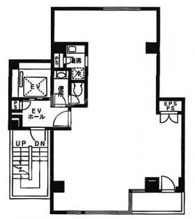 芝NAビル:基準階図面