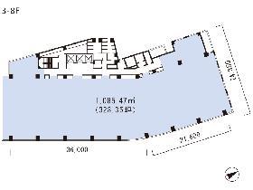 三番町東急ビル:基準階図面