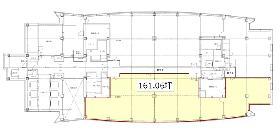 天王洲郵船ビル:基準階図面
