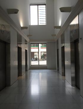 天王洲郵船ビルの内装