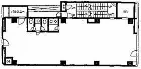 アパ赤坂ゲイトウェイビル:基準階図面