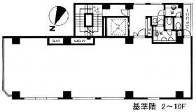 ACN神田須田町ビル:基準階図面