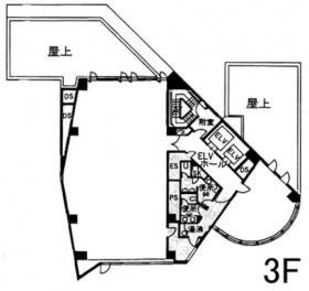 南麻布T&Fビル:基準階図面
