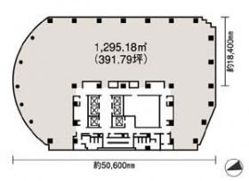 NBFプラチナタワー:基準階図面