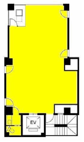 日比谷パークビル:基準階図面