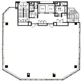 オリックス浜松町ビル:基準階図面
