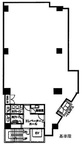 VORT九段(千代田K):基準階図面