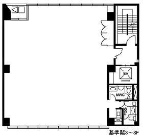 AKABISHI-Ⅱ:基準階図面