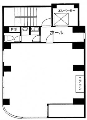 カサイビル:基準階図面