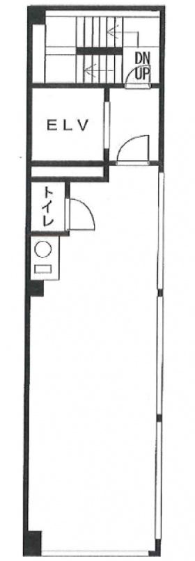 双鶴八重洲ビル:基準階図面