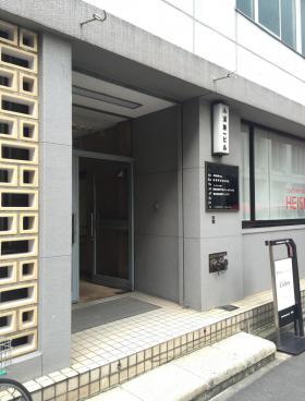 小浦第一ビルのエントランス