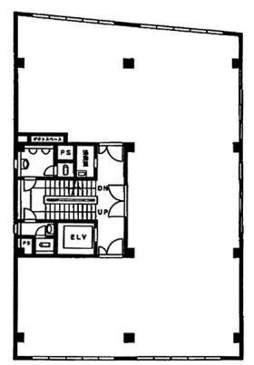 小浦第一ビル:基準階図面