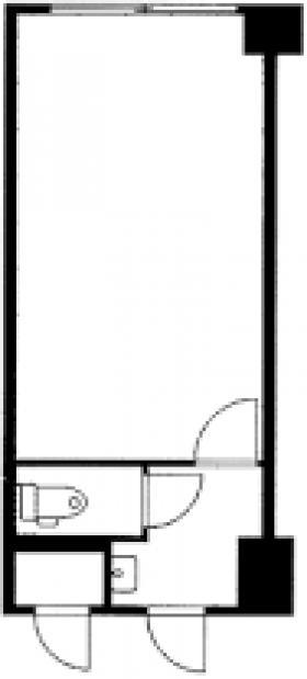 日本橋ロイヤルブラザ:基準階図面