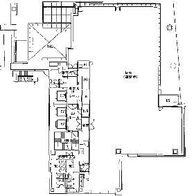 麹町ビジネスセンター(第40荒井)ビル:基準階図面