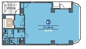 第32荒井ビル(九段南センター):基準階図面
