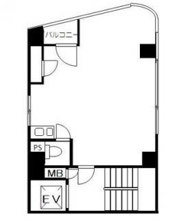 第7アカギビル:基準階図面
