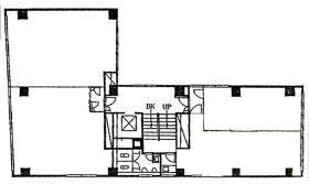 東成ビル:基準階図面
