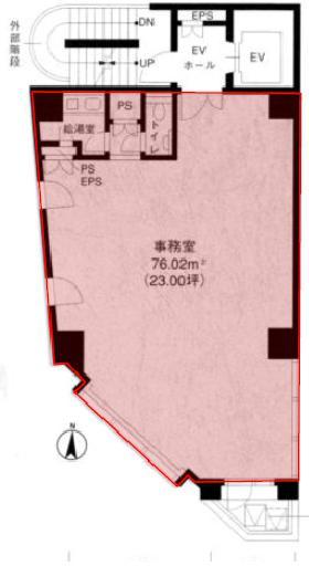 HKパークビルⅠ:基準階図面