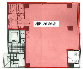 HKパークⅢビル:基準階図面