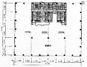 茅場町タワーレジデンス:基準階図面