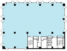 NMF駿河台ビル:基準階図面