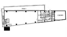 高輪エンパイヤビル:基準階図面