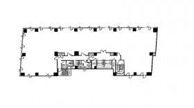 東八重洲シティビル:基準階図面