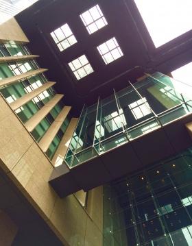 丸の内永楽ビルの内装