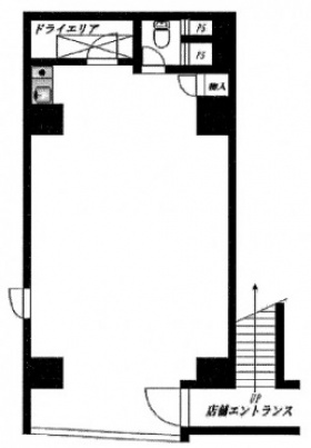日本橋Tビル:基準階図面