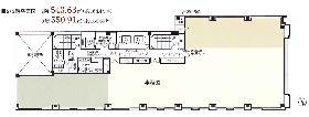 日本橋加藤ビルディング:基準階図面
