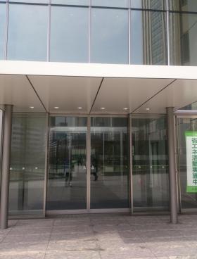 東京倶楽部ビルディングのエントランス