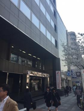 JPR市ヶ谷ビルのエントランス