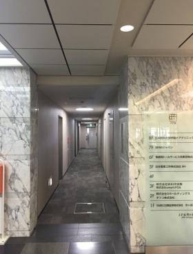JPR市ヶ谷ビルの内装