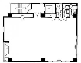 レフォルマ高輪ビル:基準階図面