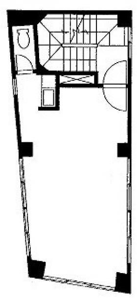 第3川端ビル:基準階図面