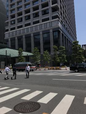 東京風月堂ビルの内装