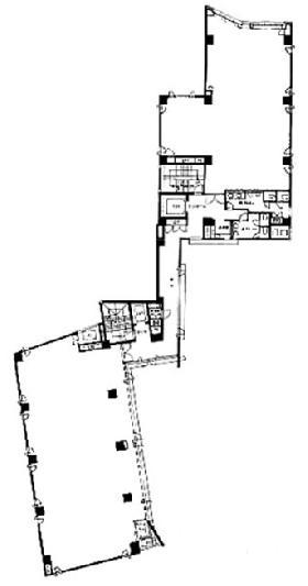 九段アイレックスビル:基準階図面