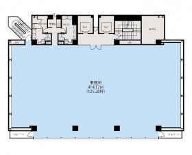兼松ビルディング別館:基準階図面