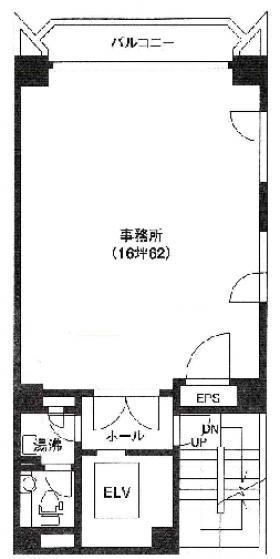 ACN京橋八重洲ビル:基準階図面