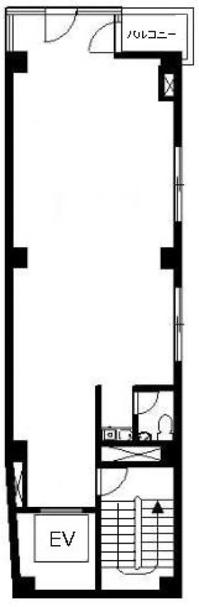 東京モリスビル第2:基準階図面