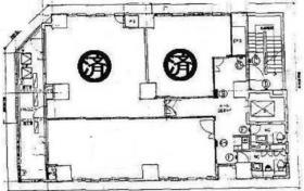 第2荒川ビル:基準階図面