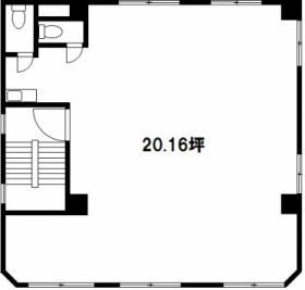 三洋ビル:基準階図面