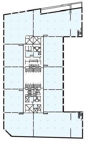 新大手町ビル:基準階図面